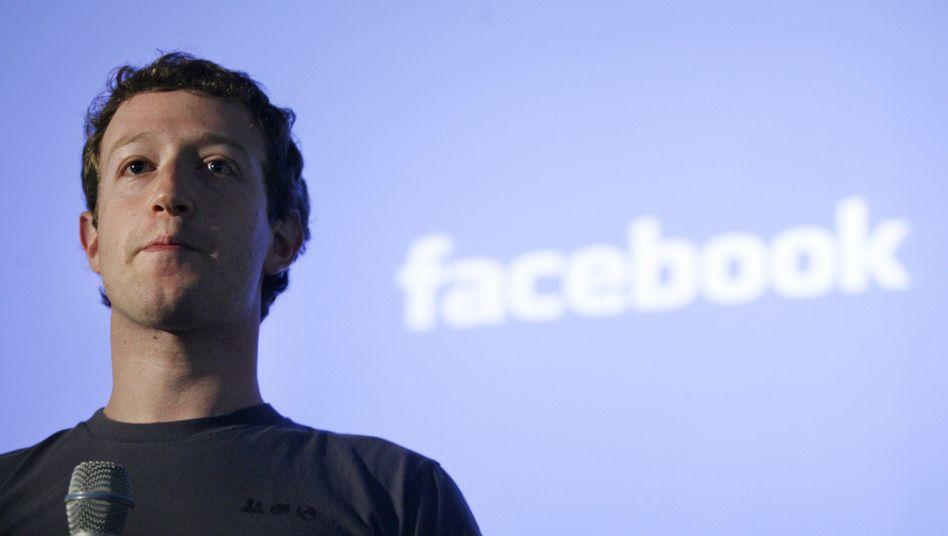 Facebook-Chef Mark Zuckerberg: Präsentation für kommende Woche angekündigt