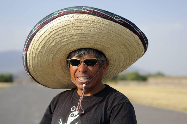 Mexikaner mit Hut