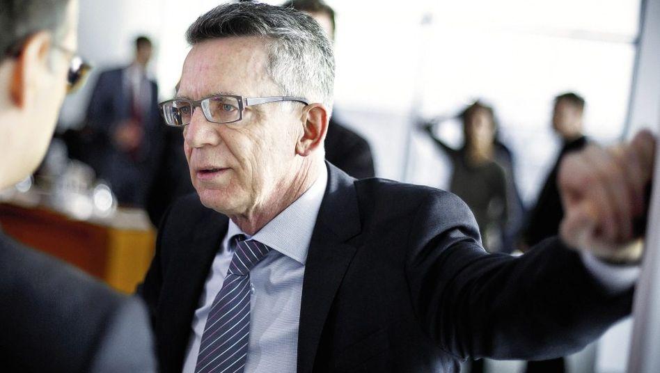 Minister de Maizière: Guter Kontakt auf Arbeitsebene