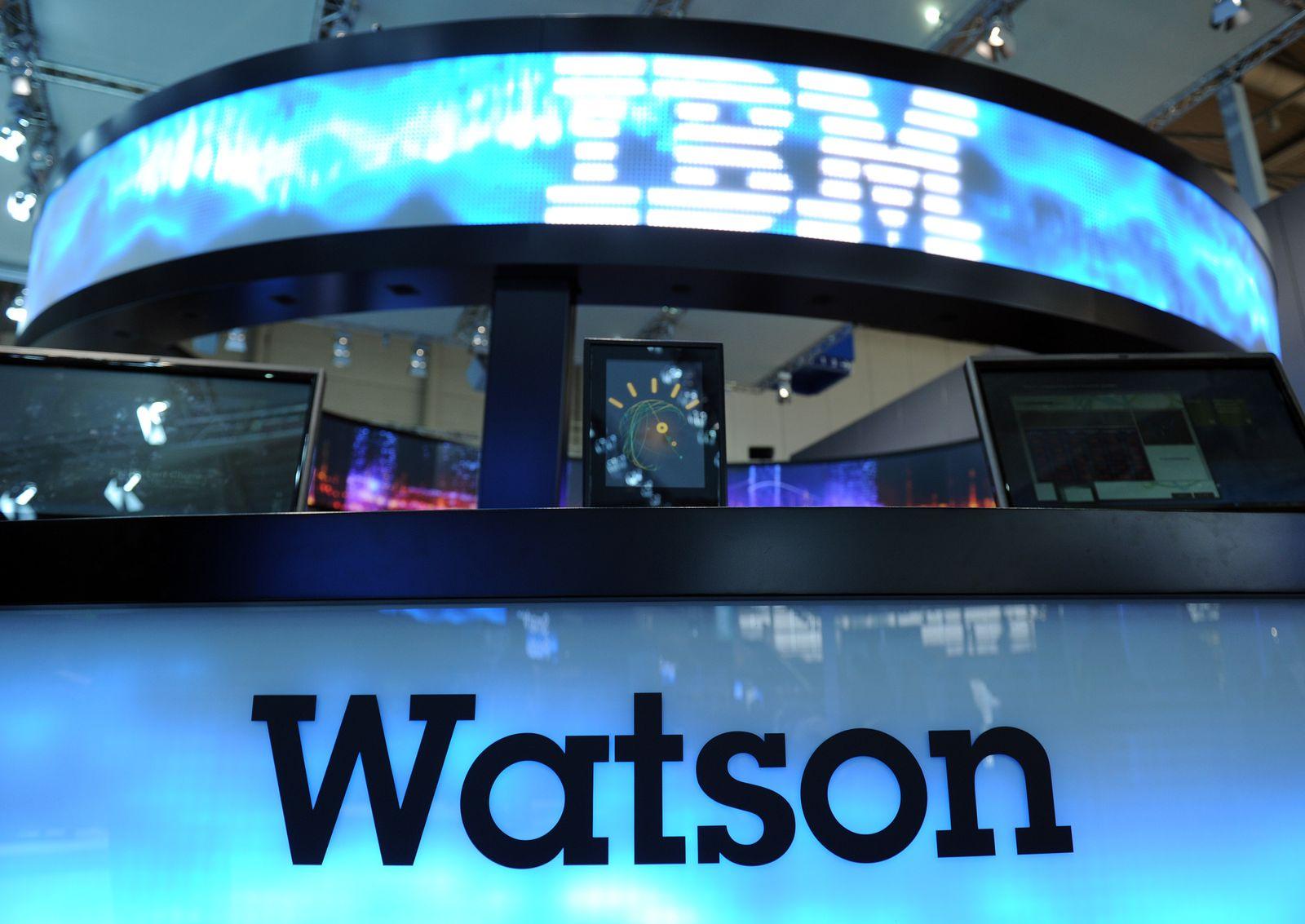 Deutsche Banken an IBM-System Watson interessiert