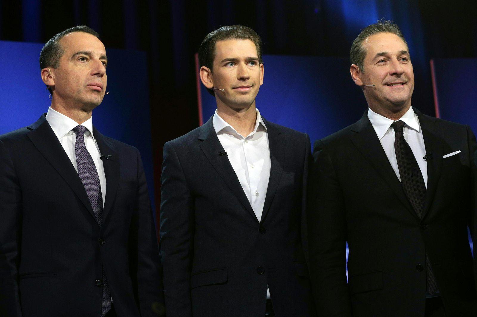 Wahl in Österreich/ Kanzler