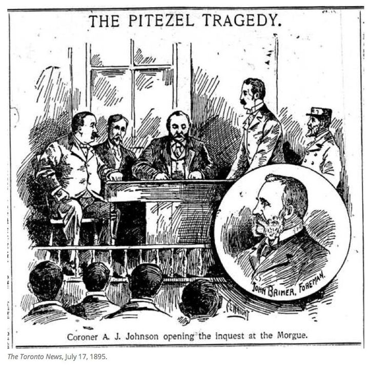 1895 wurde Holmes des Mordes an Benjamin Pitezel für schuldig gesprochen.