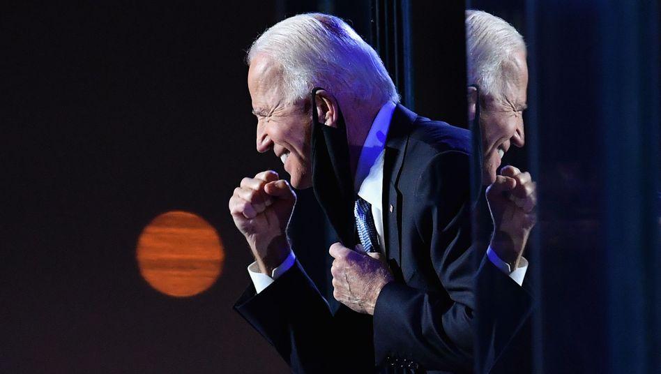 Joe Biden hat die Präsidentschaftswahl nun auch in Pennsylvania und Nevada offiziell gewonnen (Archivbild)