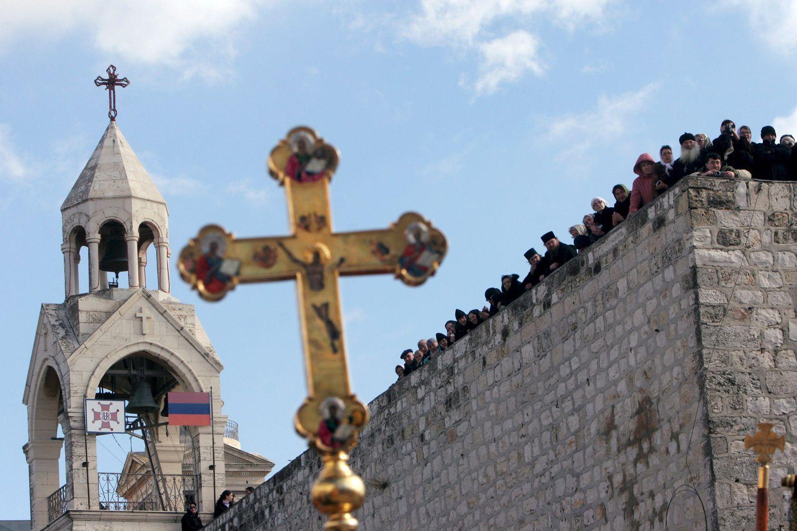 Nahost-Konflikt / Geburtskirche / Bethlehem