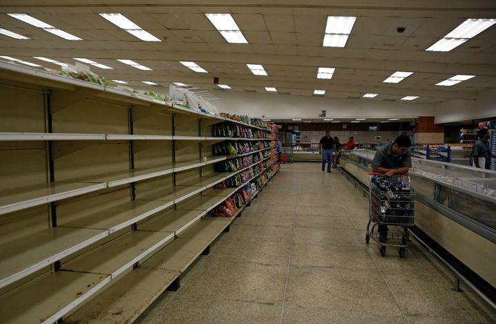 Supermarkt in Caracas