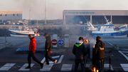 Französische Fischer blockieren Lieferungen aus Großbritannien