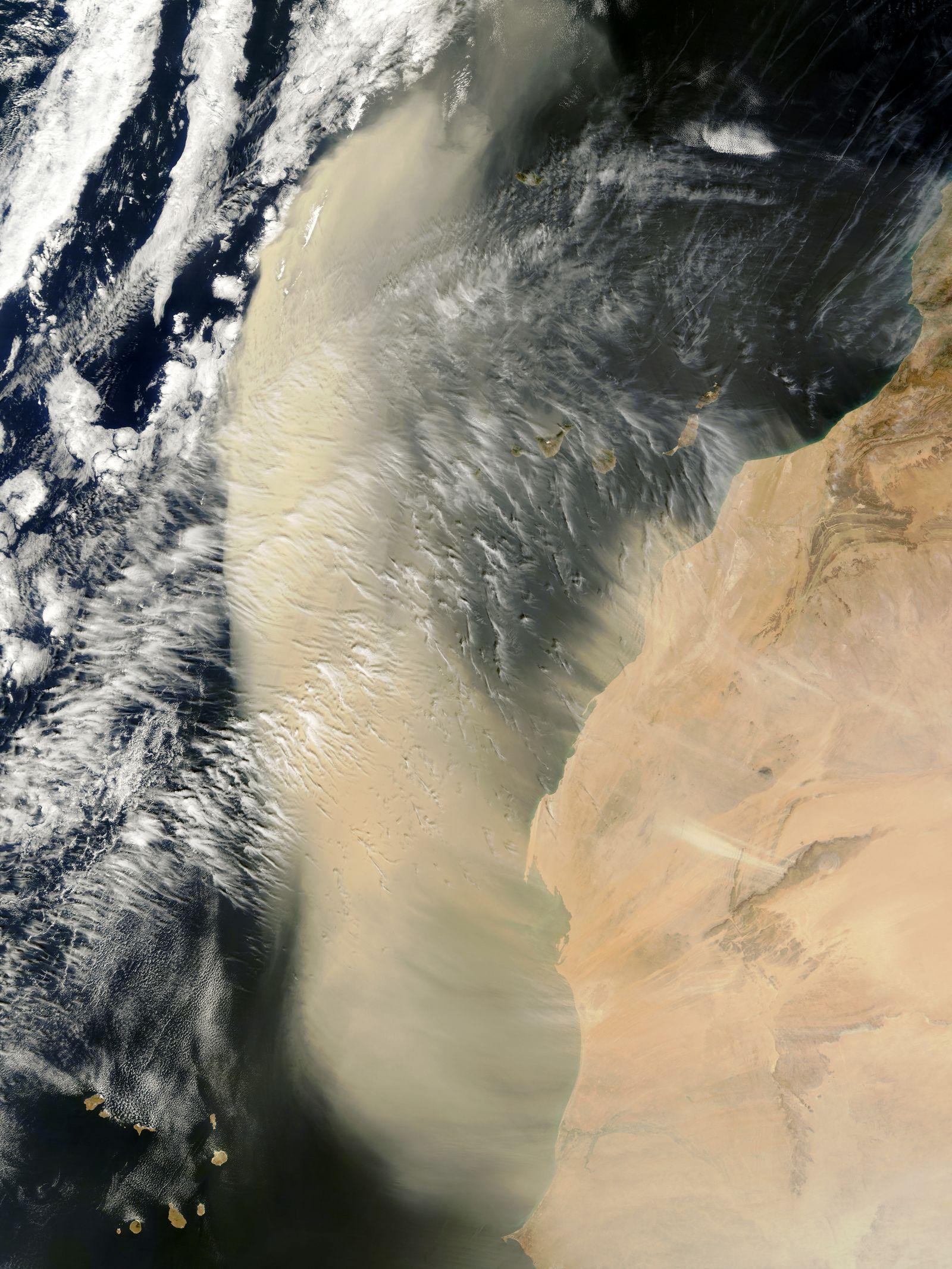 Sahara-Staub / West-Afrika
