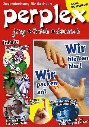 """Pseudo-Schülerzeitung """"Perplex"""": Platte Parolen"""