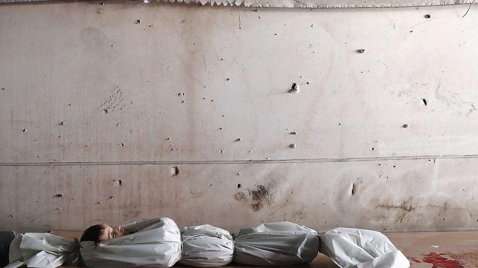 Getötetes Kind in Syrien