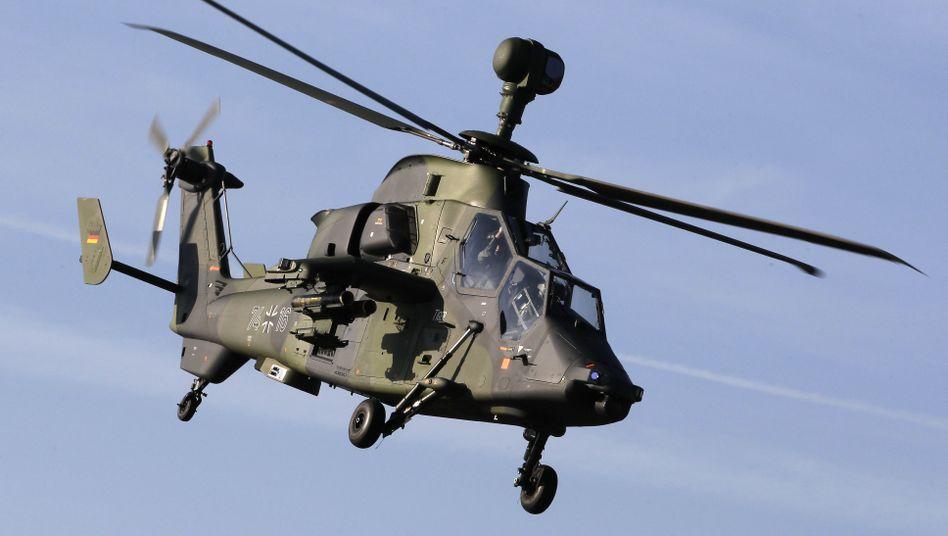 Tiger-Hubschrauber der Bundeswehr: Alte Modelle sollen ausgeschlachtet werden.