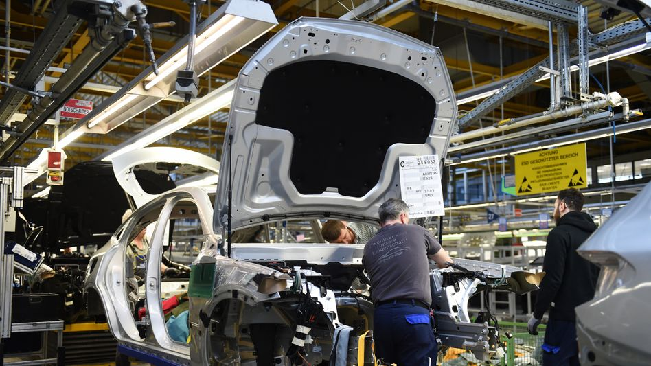 Daimler-Produktion in Bremen (Archiv)