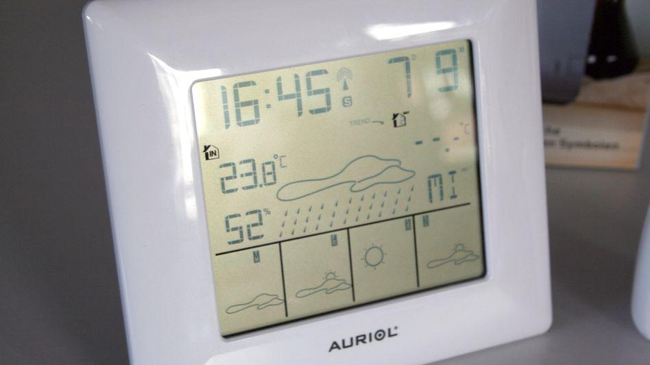 """Funk-Wetterstation """"Auriol"""": Digitales Orakel"""