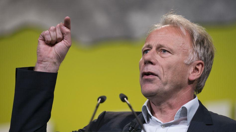 Grünen-Politiker Trittin: Forderung nach erfolgreicher Energiewende