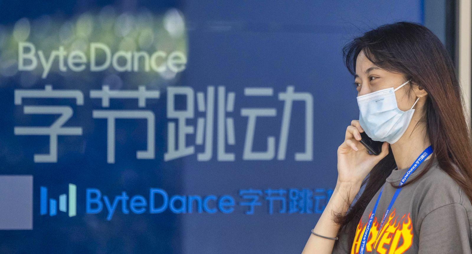 Shanghai Bytedance - TikTok ban, China - 03 Aug 2020