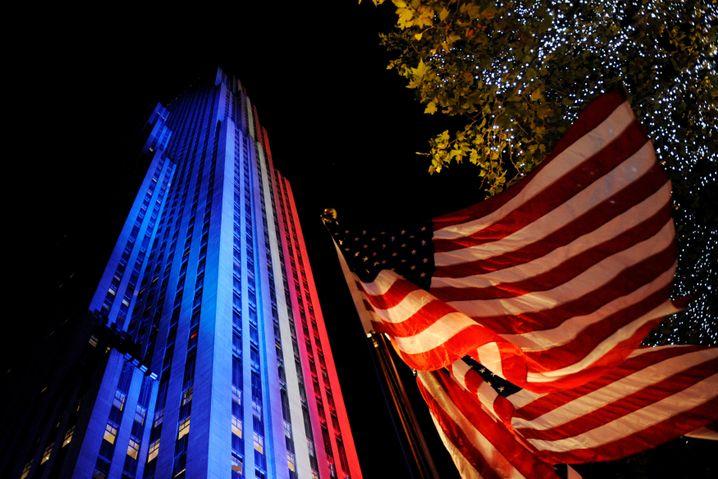 Vertuschung dementiert: NBC-Zentrale im Rockefeller Center