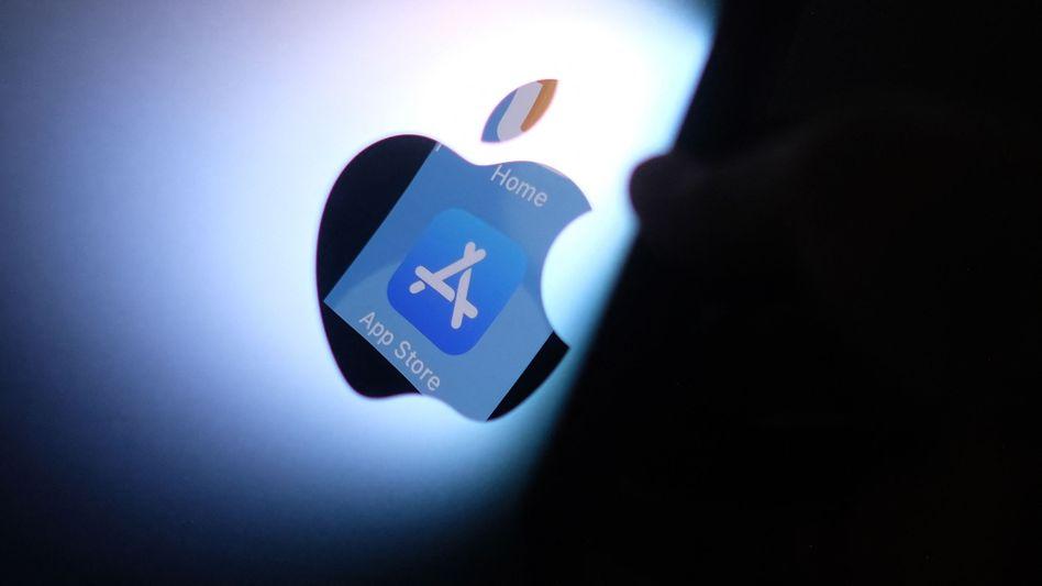 Apple-Logo: »Sie kommen nicht drum herum, zumindest zeitweise im Besitz dieses Materials zu sein«