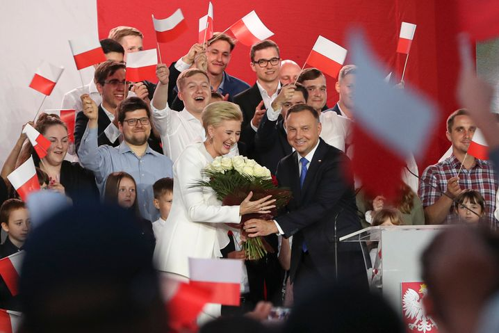 Sieger Duda: Wahlkampf der Gefühle