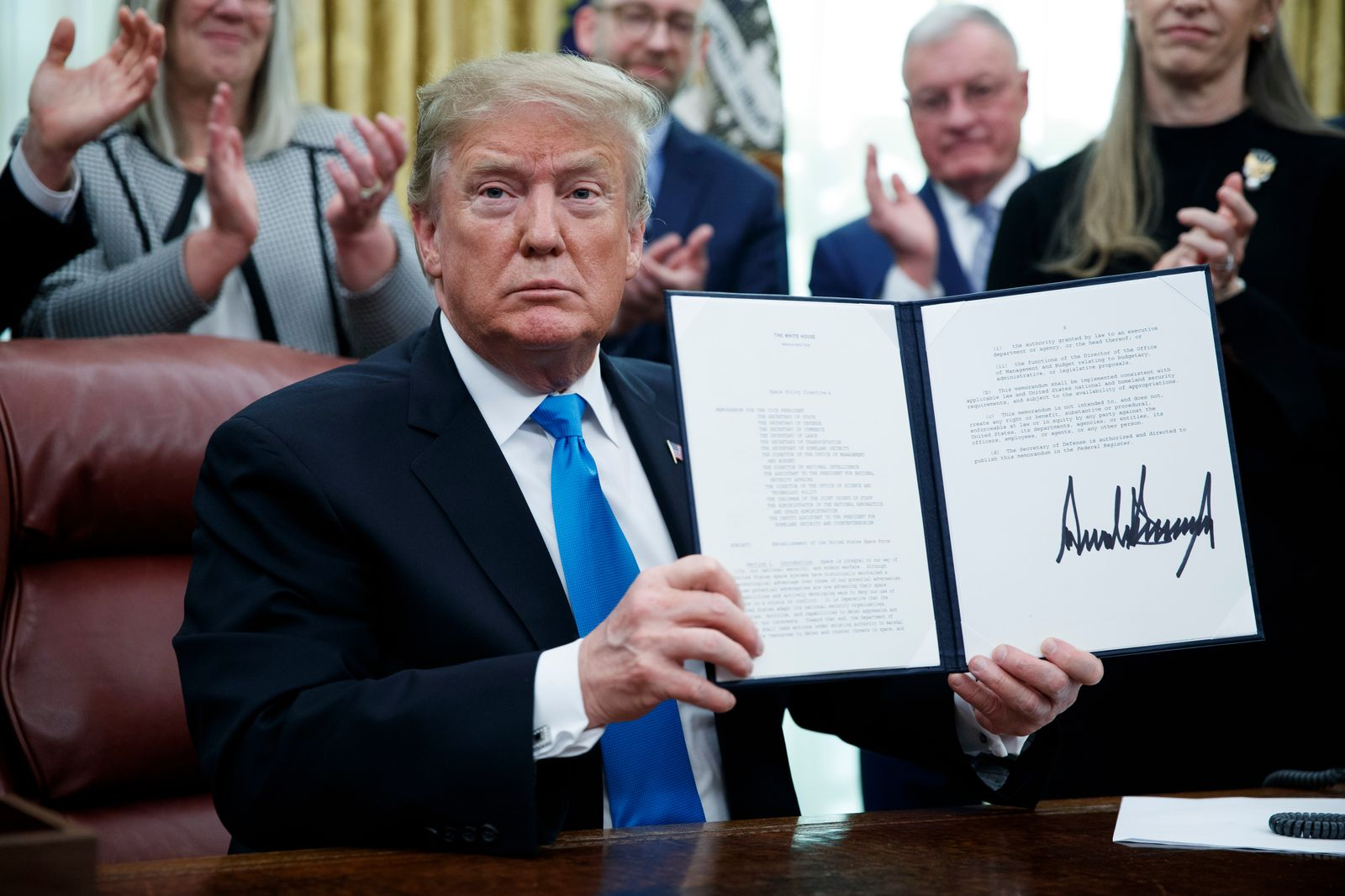 Donald Trump/ Weltraumstreitkräfte