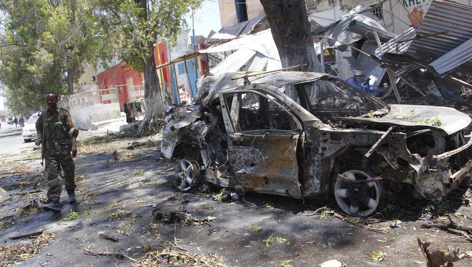 Sprengstoffanschlag in Mogadischu