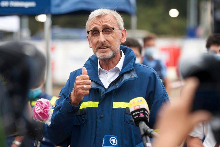 Armin Schuster, Leiter des Bundesamts für Bevölkerungsschutz und Katastrophenhilfe