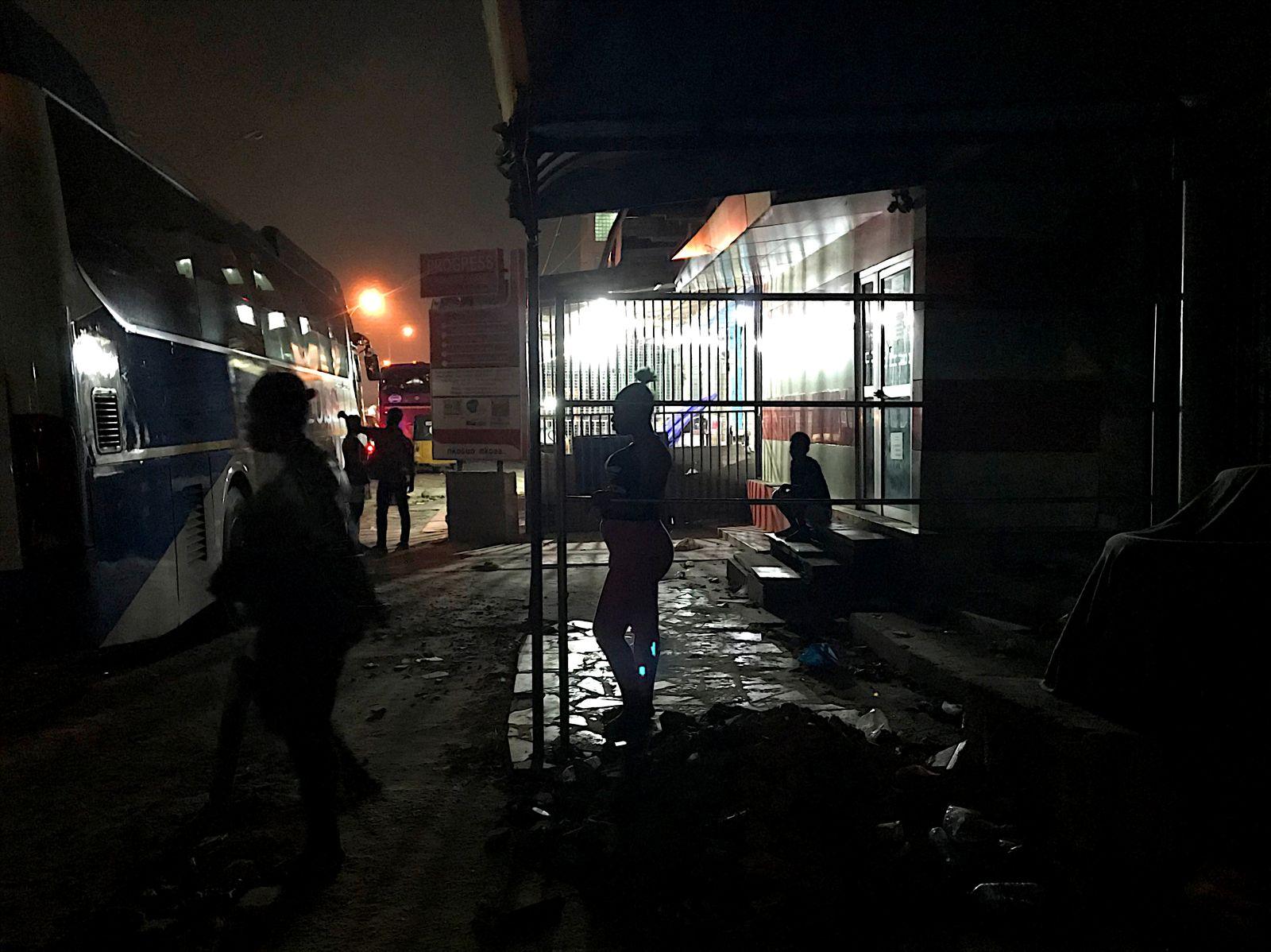 EINMALIGE VERWENDUNG Ghana Kinderprostitution