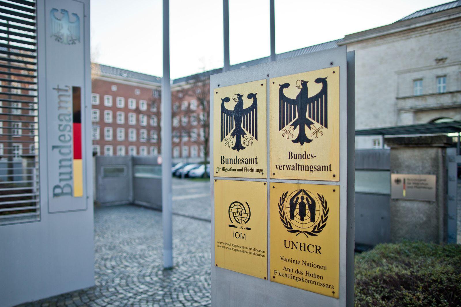 Flüchtlingskrise / Nürnberg / Bundesamt für Migration und Flüchtlinge