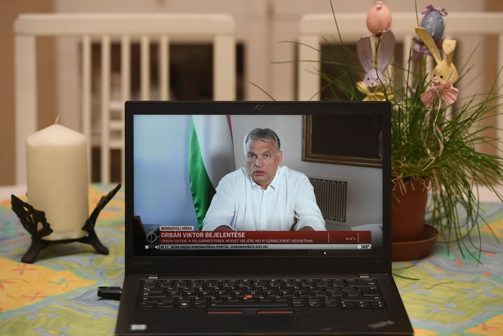 """Hungarian Prime Minister Viktor Orbán: """"Corrupted by power."""""""