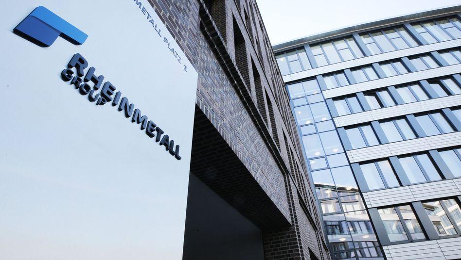 Firmenlogo von Rheinmetall in Düsseldorf