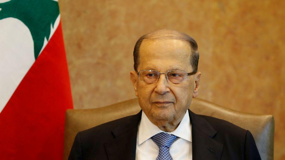 Libanons Präsident Michel Aoun