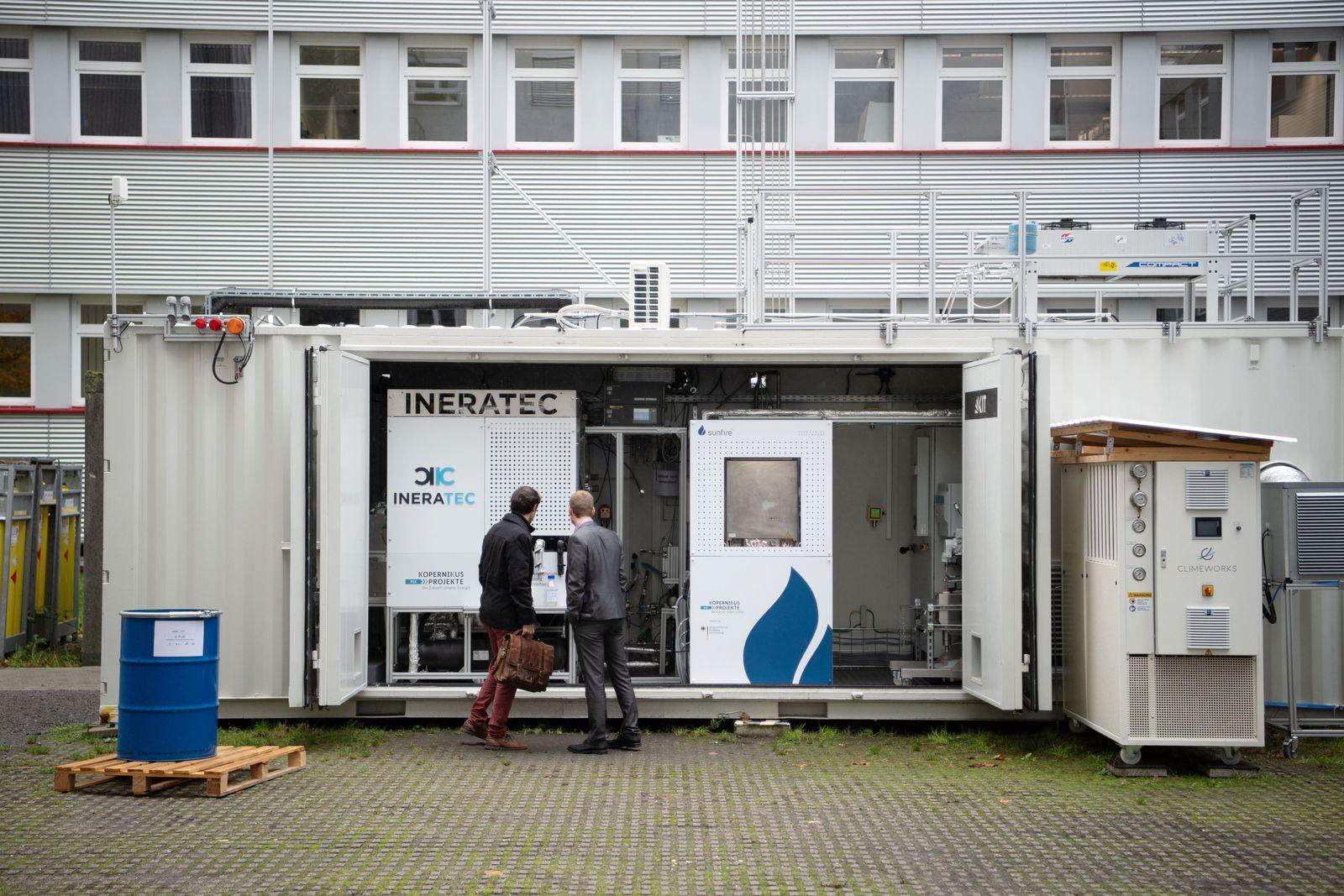 Inbetriebnahme eFuel-Forschungsanlage am KIT