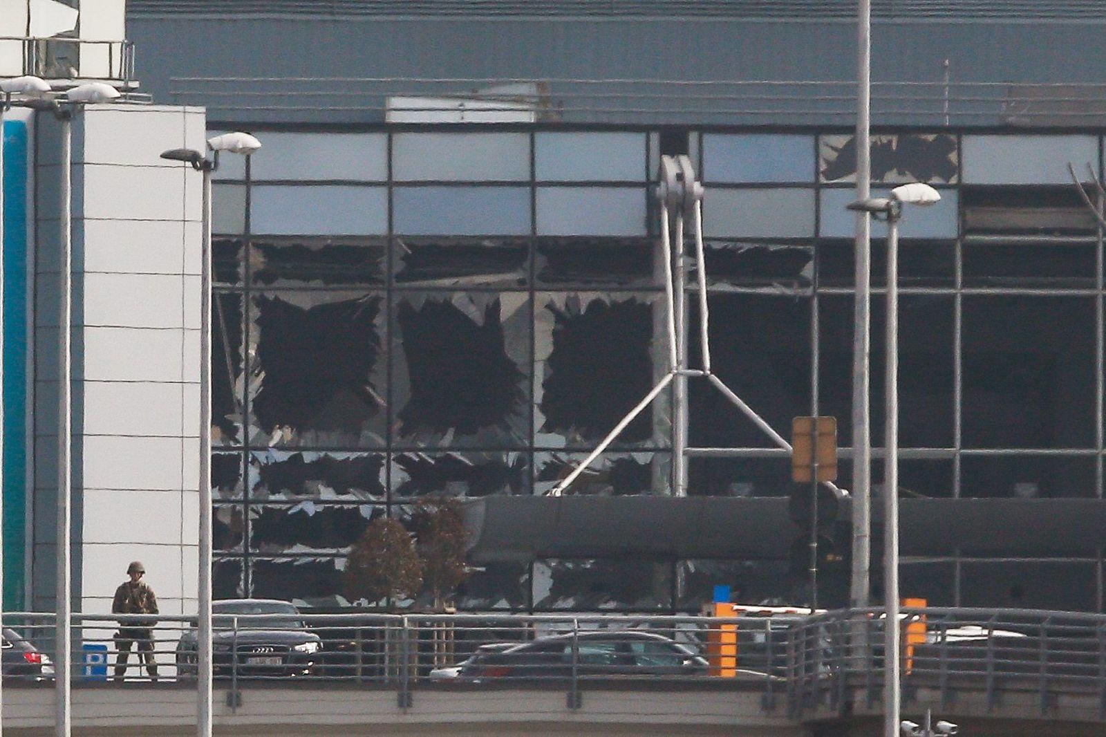 Belgien / Brussels / Flughafen / Zaventem / Anschlag