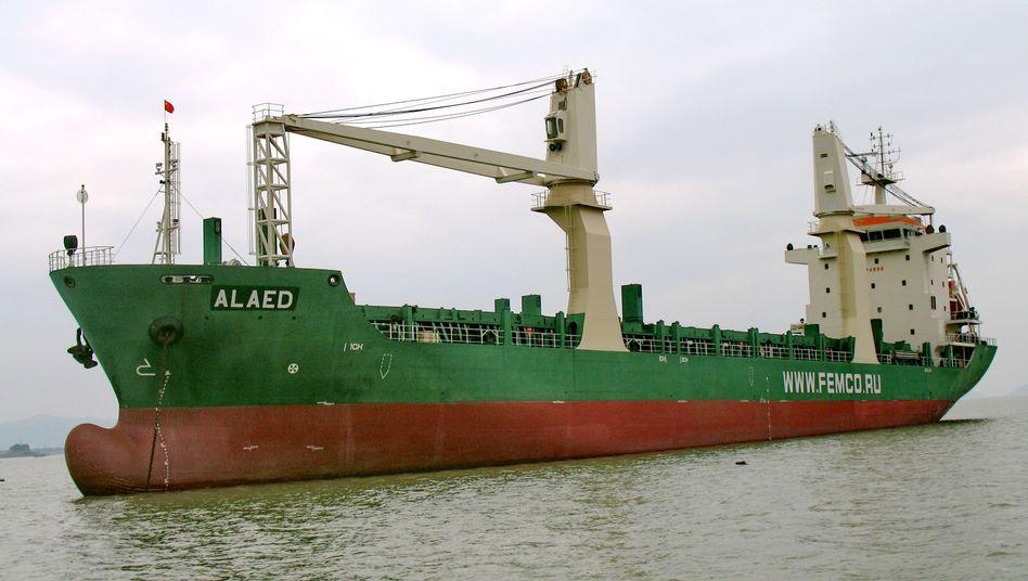 """""""MV Alaed"""": Dem russischen Frachter wurde die Versicherung entzogen"""