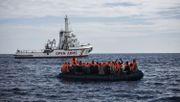 Deutschland nahm 401 aus Seenot gerettete Migranten auf