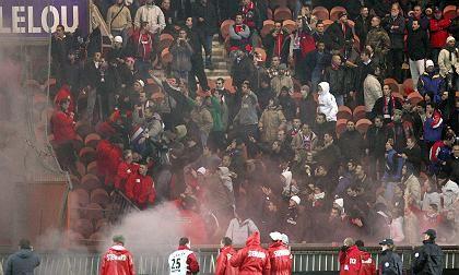 PSG-Fans vor dem Spiel gegen Tel Aviv: Rassistische Schmähungen