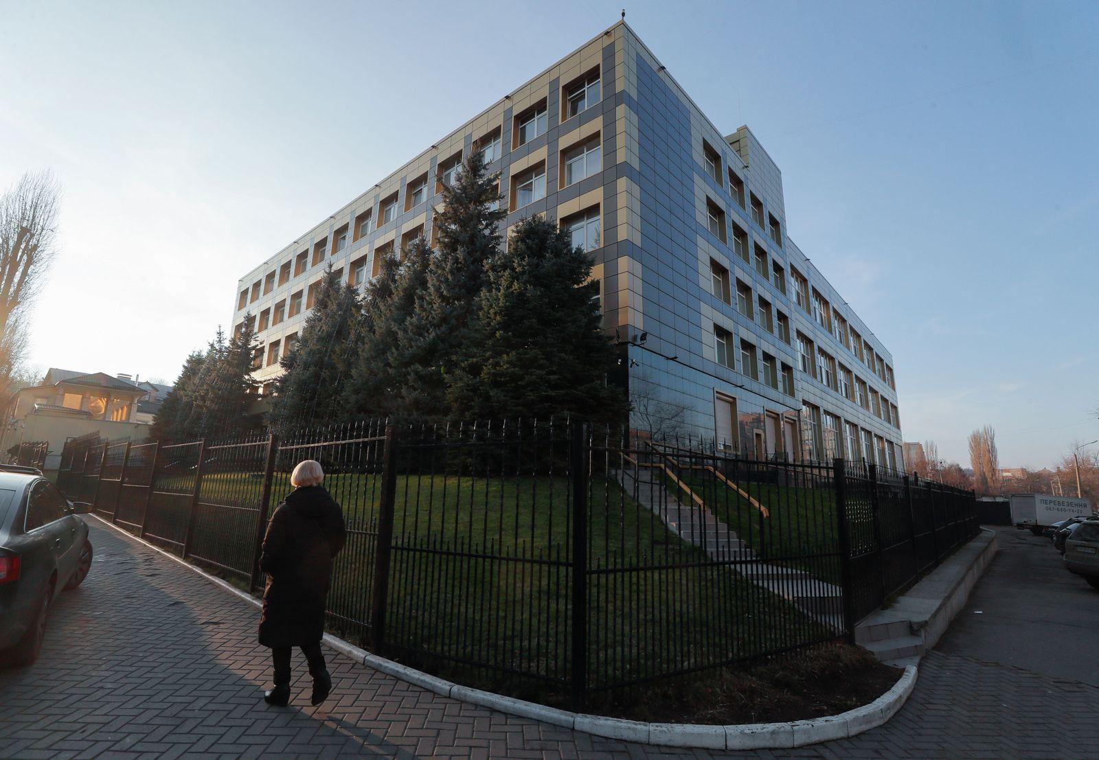 Subsidiary of Ukrainian energy company Burisma Holdings Ltd in Kiev, Ukraine - 14 Jan 2020