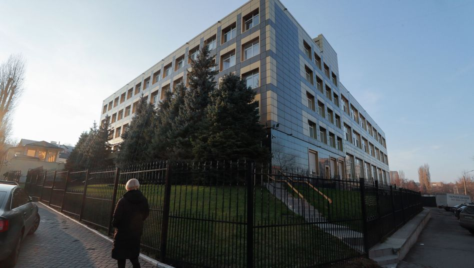 Von Russland gehackt? Burisma-Sitz in Kiew
