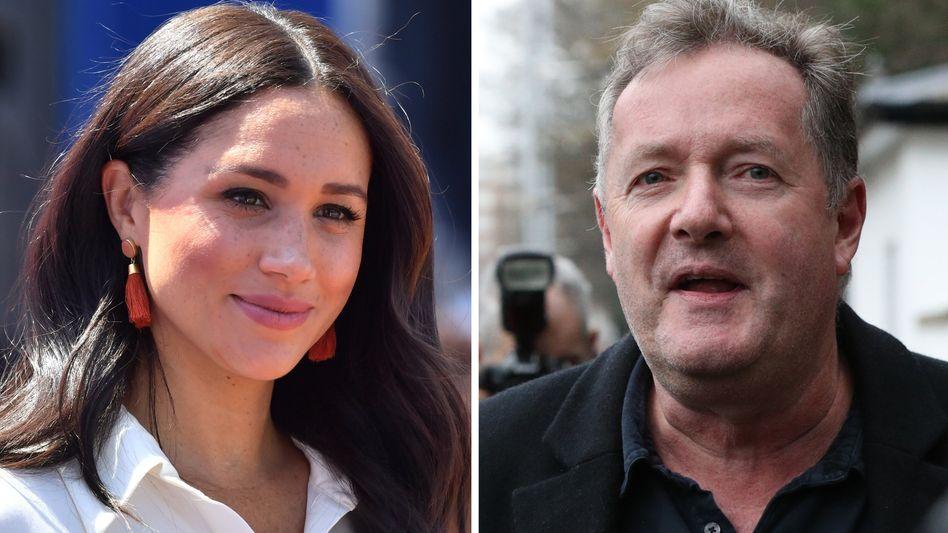 Meghan Markle hat sich über TV-Moderator Piers Morgan beschwert