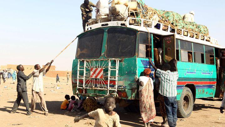 Südsudan: Auf gepackten Koffern