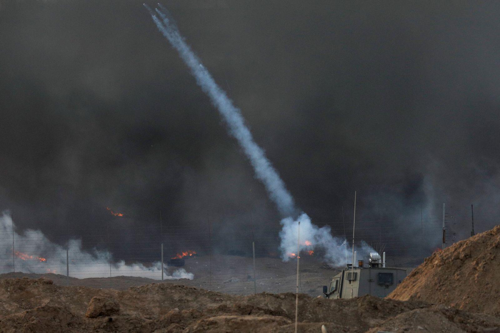 Israel/ Gaza/ Rauch