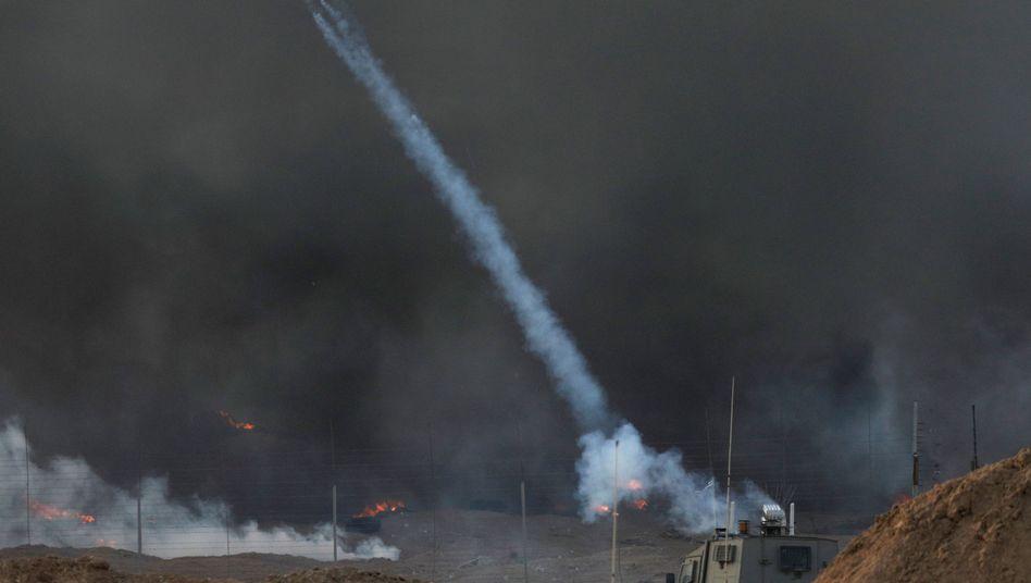 Zusammenstöße an der Grenze zum Gazastreifen (Symbolbild)