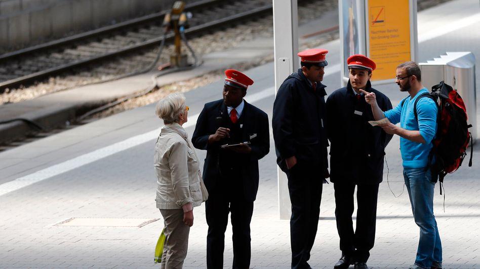 Bahn-Mitarbeiter (Archivbild): Keine Einigung in Sicht
