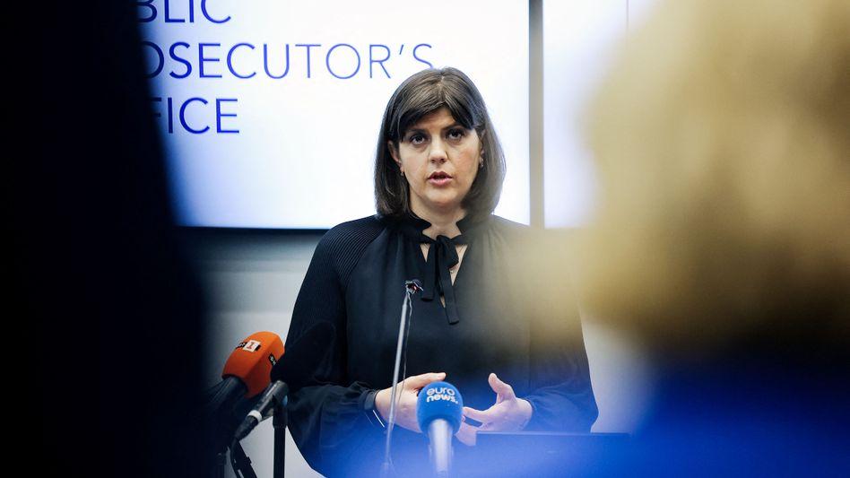 EU-Generalstaatsanwältin Kövesi: »Ein historischer Moment«