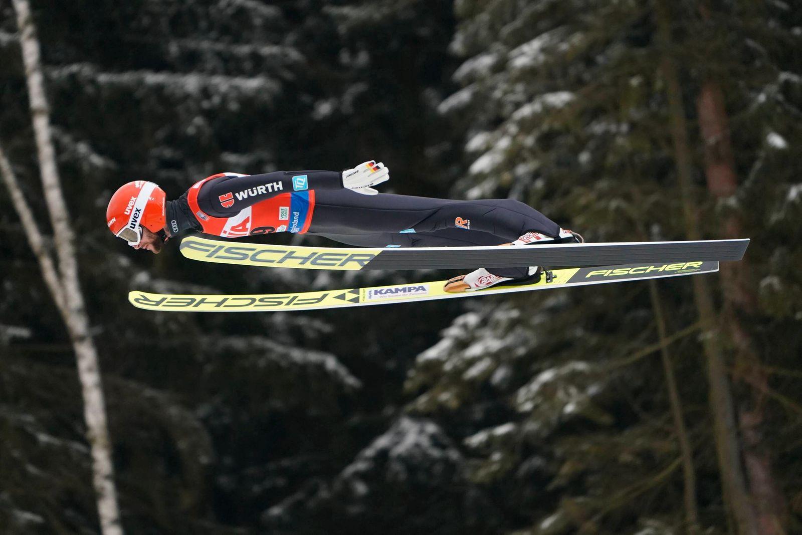 07.02.2021 KLINGENTHAL PUCHAR SWIATA W SKOKACH NARCIARSKICH, KONKURS INDYWIDUALNY FIS Ski jumping, Skispringen, Ski, no