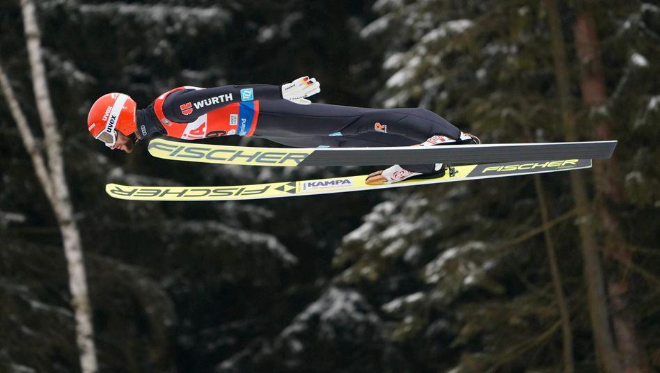 Marcus Eisenbichler kämpft in Oberstdorf um seine fünfte Goldmedaille bei einer WM