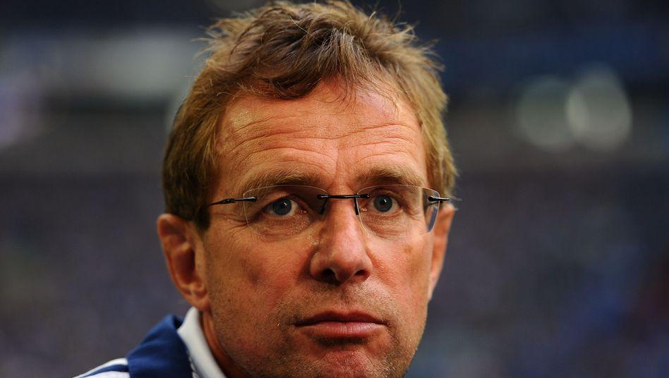 Trainer Rangnick (Archiv): Nachfolger tritt schweres Erbe an