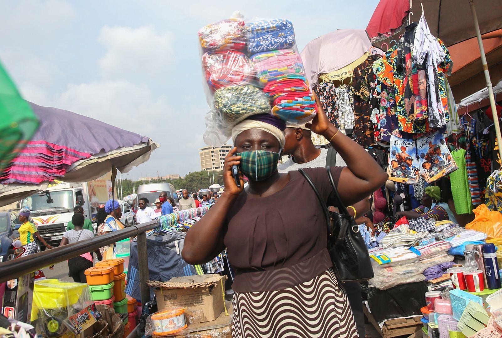 Daily life amid Covid-19 in Ghana