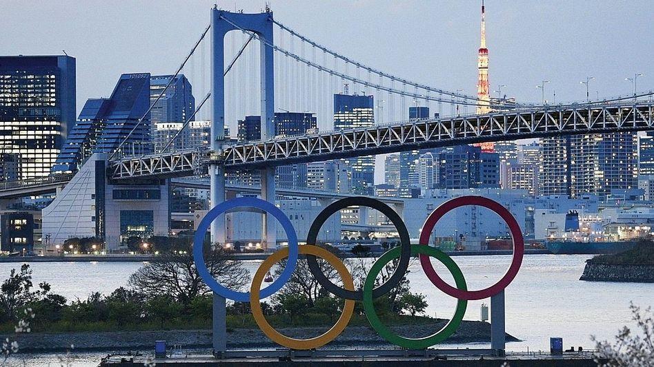 """Olympische Ringe in Tokio im März:""""Eine Mammutaufgabe"""""""