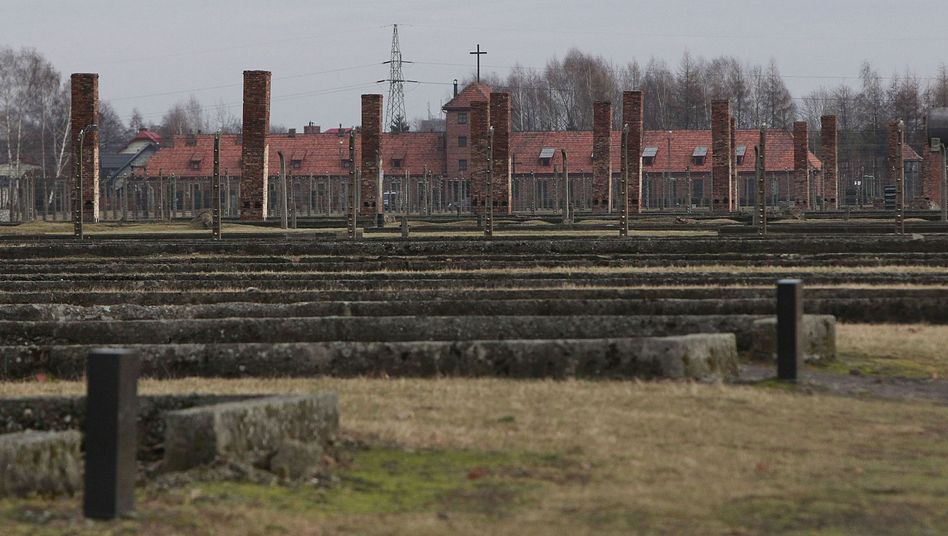 Vernichtungslager Auschwitz-Birkenau: Auch hier soll Reinhold Hanning Dienst getan haben