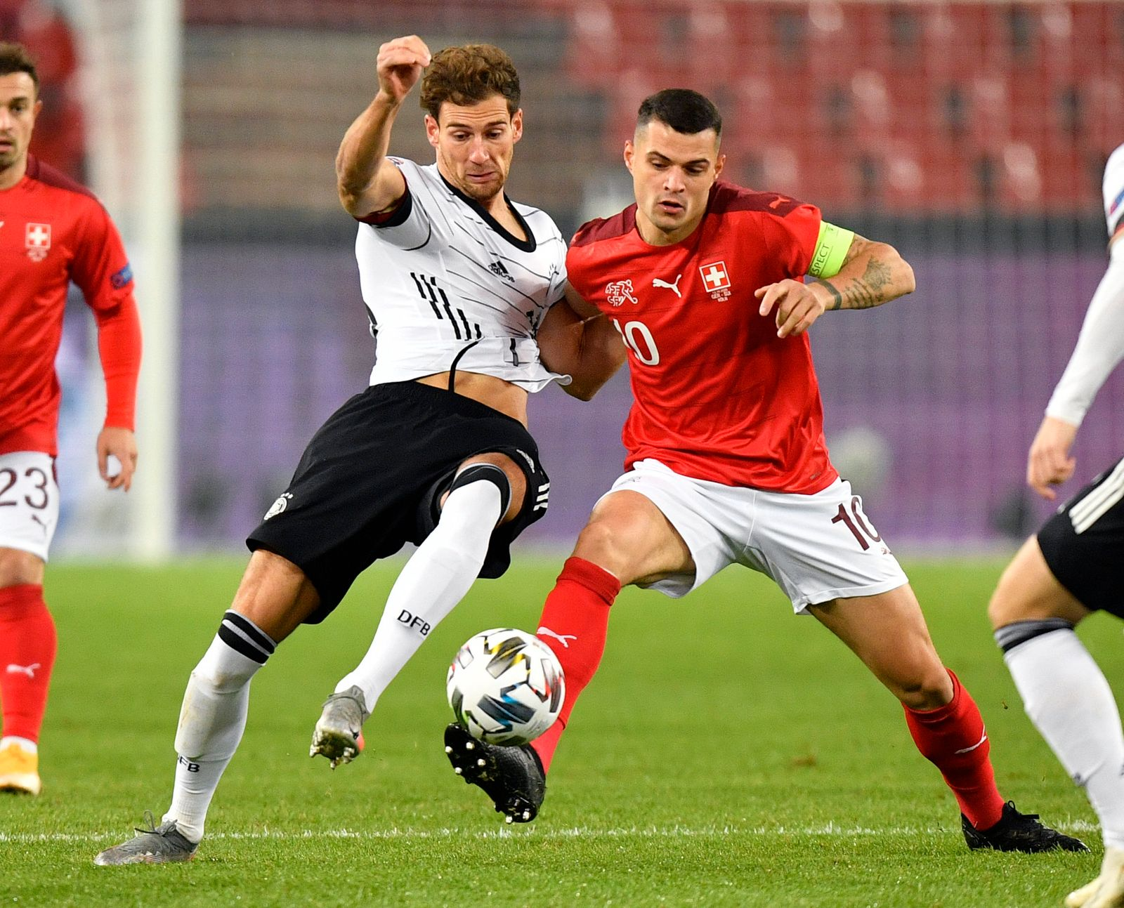 Germany Switzerland Nations League Soccer