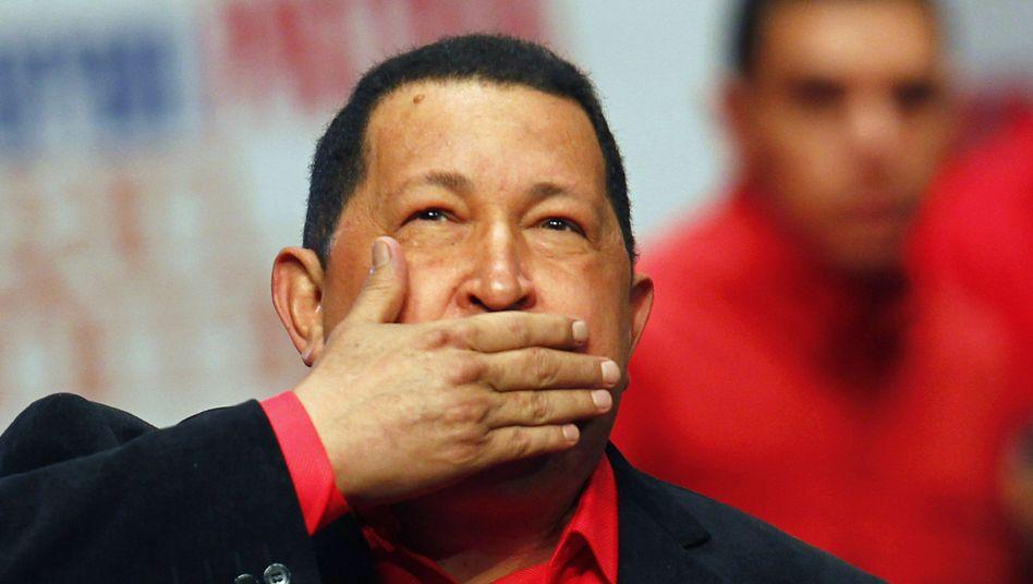 Chávez 2012 in Caracas: Charismatisch, herausragend, umstritten